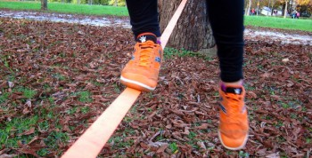 Balansa slackline - orange