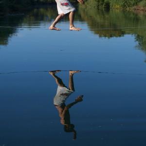 Balansa slackline tečaji ravnotežja
