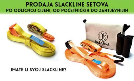 BALANSA SLACKLINE PRODAJA SLACKLINE SETOV
