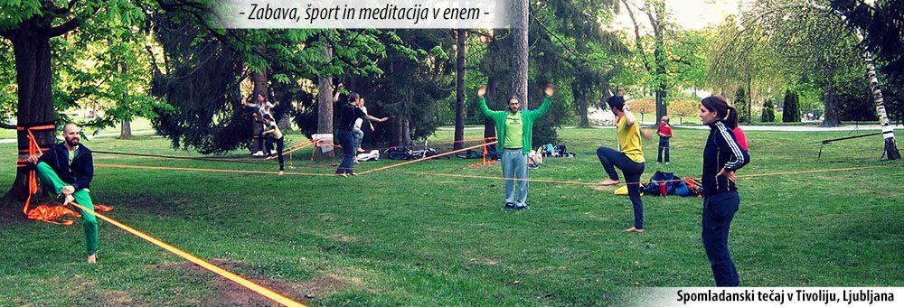 Balansa slackline – tecaj_ravnotezja