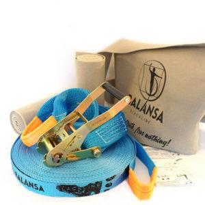 Balansa-slackline-''33''_33m-3,5cm-blue