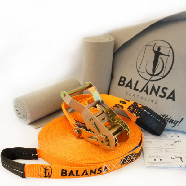 Balansa-slackline-Ultra_Light-23m-2,5cm-orange