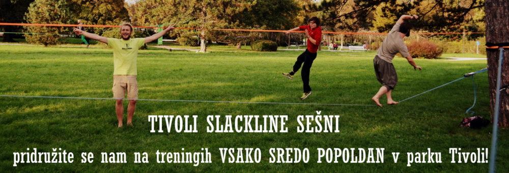Balansa Slackline Tivoli slackline