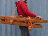 Balansa Slackline woodie transport