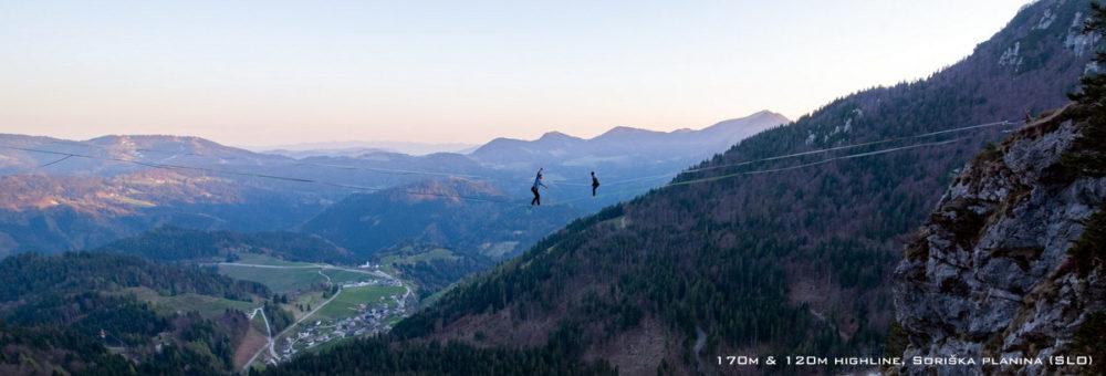 Balansa-Slackline Highline Slovenia