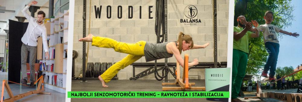 Balansa Slackline Woodie indoor slackline