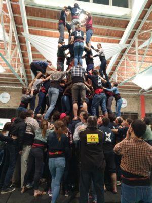 Castellers de Vilafranca training 2017