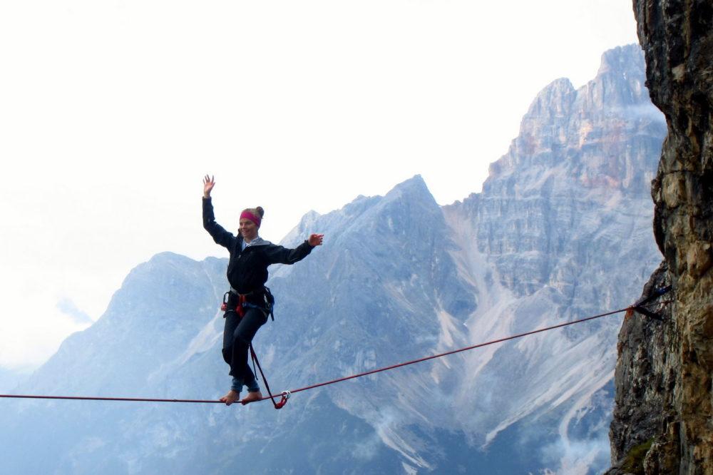 Balansa_Slackline-Highline Meeting Monte Piana 2014