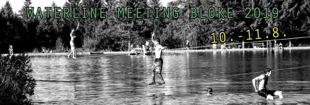 Balansa Slackline Waterline meeting Bloke 2019